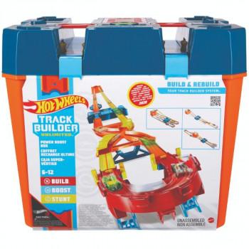 Hot Wheels Track Builder Power Boost Box