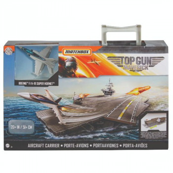 Mattel Matchbox Top Gun Letadlová loď