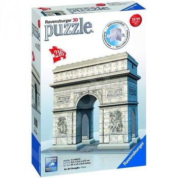 Ravensburger 3D puzzle Vítězný oblouk Francie 216 ks