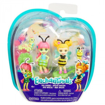 ENCHANTIMALS 2KS BROUČEK Cay & Beetrice bee FXM88