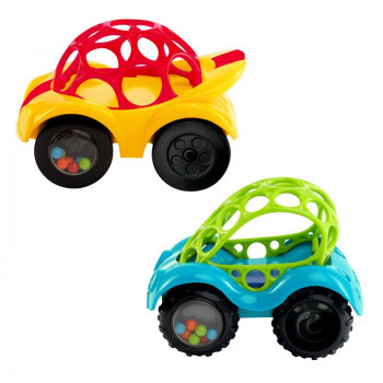 Hračka autíčko OBALL Rattle & Roll™ 3m+