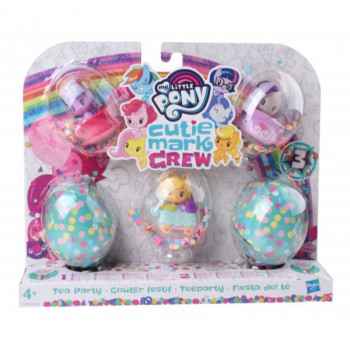 Hasbro My Little Pony Cutie Mark Crew Party Performers TEA PARTY