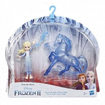 Frozen 2 mini figurky deluxe Elsa a Nokk