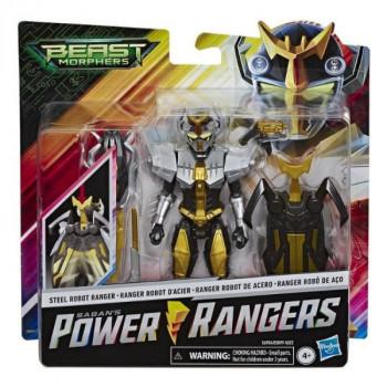 Hasbro Power Rangers Deluxe figurka Steel Robot Ranger