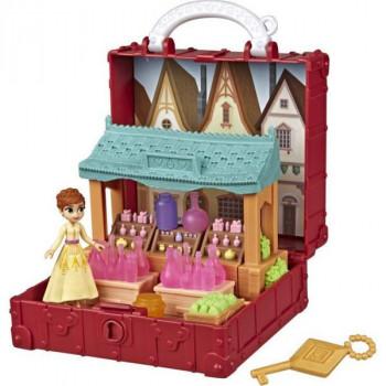 Hasbro Frozen 2 Hrací set se scénou Anna s vesnicí
