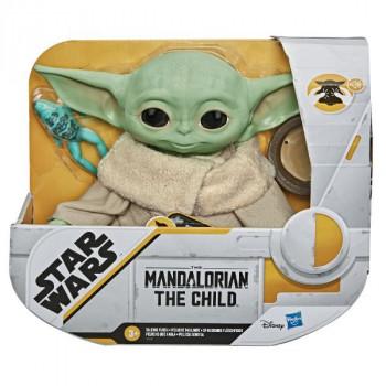Plyšák Star Wars Baby Yoda plyšová mluvící figurka