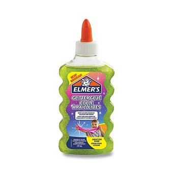 Lepidlo ELMER´S Glitter Glue 177ml, zelené