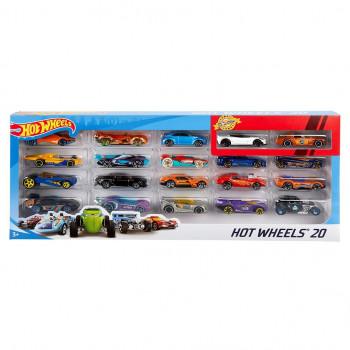Hot Wheels Angličák 20 ks