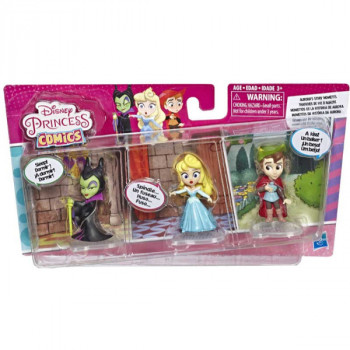 Disney Princess Mini princezna trojbalení Aurora Story