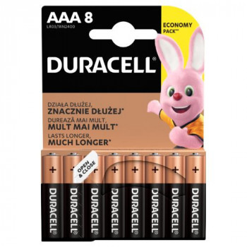 Duracell Basic AAA 8K 2400