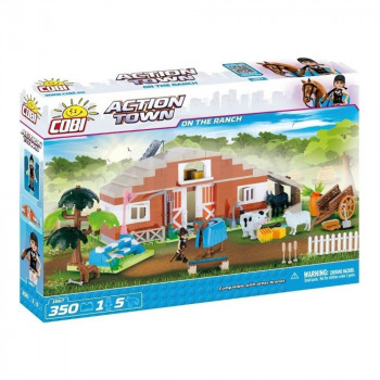 Cobi Action Town 1867 Farma Stáje