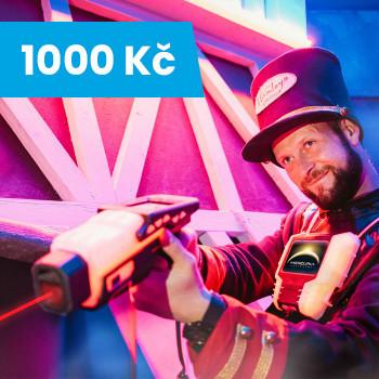Voucher na Laser Game v Hamleys - 1 000 Kč
