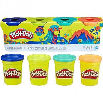 Play-Doh 4 kelímky zvířátka Wild