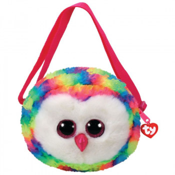 TY Gear kabelka OWEN - barevná sova