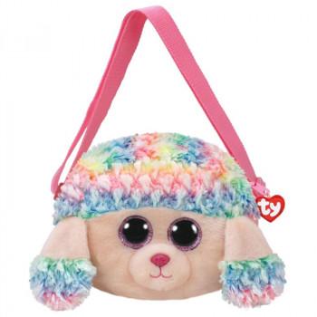 TY Gear kabelka RAINBOW - barevný pudl