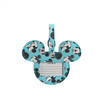 ID Tag Disney Mickey/Minnie Blue