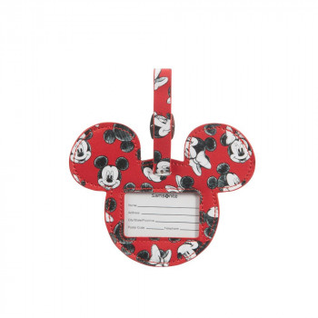ID Tag Disney Mickey/Minnie Red