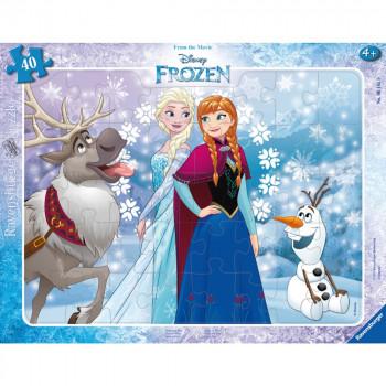 Ravensburger Puzzle 061419 Disney Ledové království 40 dílků