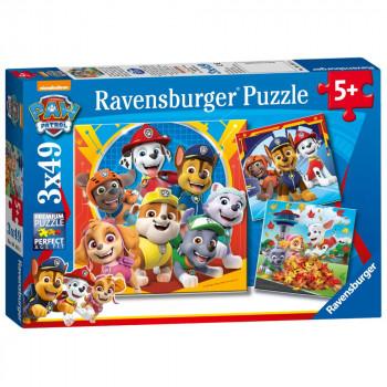 Ravensburger Puzzle 050482 Tlapková patrola - Hrátky v listí