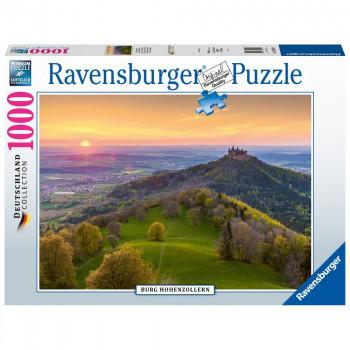Ravensburger Puzzle 150120 Zámek Hohenzollern 1000 dílků