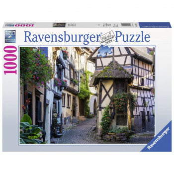 Ravensburger Puzzle 152575 Egnisheim v Alsasku 1000 dílků