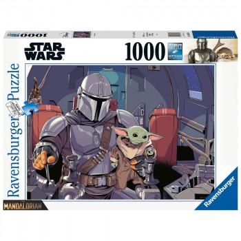 Ravensburger Puzzle 165650 Mandalorian 1000 dílků