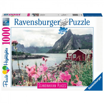 Ravensburger Puzzle 167401 Skandinávie Lofoty, Norsko 1000 d