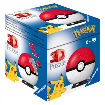 Ravensburger 3D Puzzle 112562 Puzzle-Ball Pokémon Motiv 1