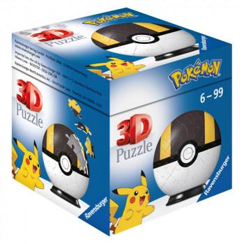 Ravensburger 3D Puzzle 112661 Puzzle-Ball Pokémon Motiv 3