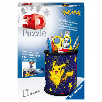 Ravensburger 3D Puzzle 112579 Stojan na tužky Pokémon 54 díl