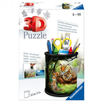 Ravensburger 3D Puzzle 112630 Stojan na tužky Divoká příroda