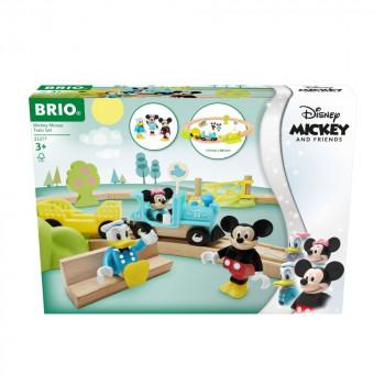 BRIO World 32277 Disney and Friends Vlakový set Myšáka Micke