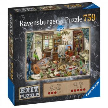 Ravensburger Puzzle 167821 Exit Puzzle: Umělecké studio 759