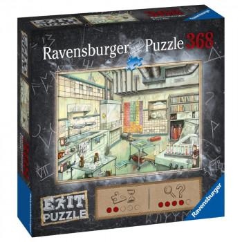 Ravensburger Puzzle 167838 Exit Puzzle: Laboratoř 368 dílků