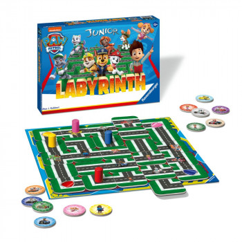 Ravensburger hry 208241 Labyrinth Junior Tlapková patrola