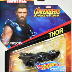 Hot Wheels Marvel Character Cars Thor