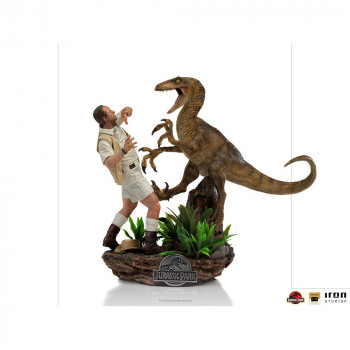 Clever Girl Deluxe Art Scale 1/10 - Jurassic Park