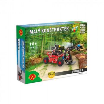 Malý konstruktér - FOREST Drapák (Stavební stroje)