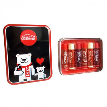 Lip Smacker Coca-Cola Polar Bear Pixel Tin Box