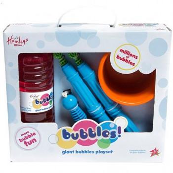 Hamleys obří výroba bublin