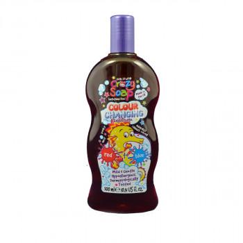 Crazy Soap Colour Changing - 300ml mýdlo měnící barvu Červen