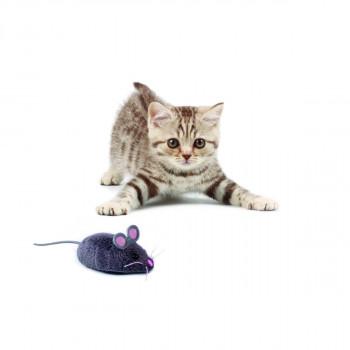 HEXBUG Robotická myš - šedá