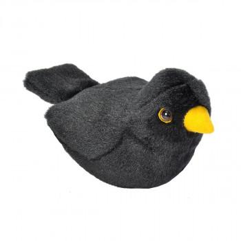 Plyšový pták se zvuky Kos