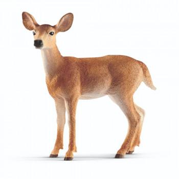 Schleich Zvířátko - Laň jelena běloocasého