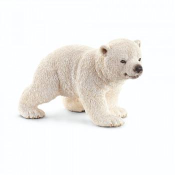 Schleich Zvířátko - mládě ledního medvěda chodící