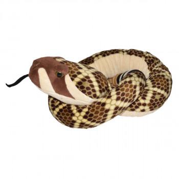 Plyšový had Chřestýš 137 cm