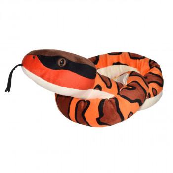 Plyšový had Ploskolebec 137 cm