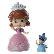 Jakks Pacific Disney Mini princezna a kamarád - Sofia and Fl