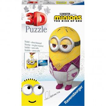 Ravensburger 3D Puzzle 112296 Mimoni 2 postavička - Disco 54