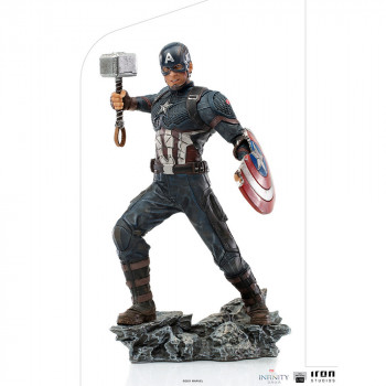 Captain America Ultimate BDS Art Scale 1/10 - The Infinity S